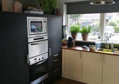 De keuken, de relatiehoek, na Feng Shui advies