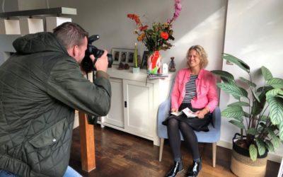 Interview Algemeen Dagblad;                           rubriek Binnen & Buiten