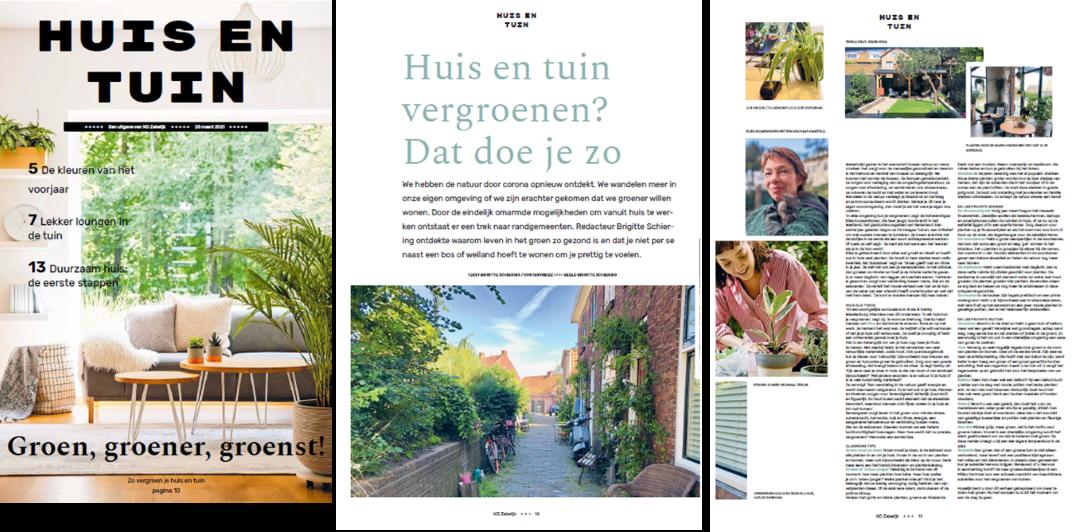 Interview in het Nederlands Dagblad 25 maart 2021